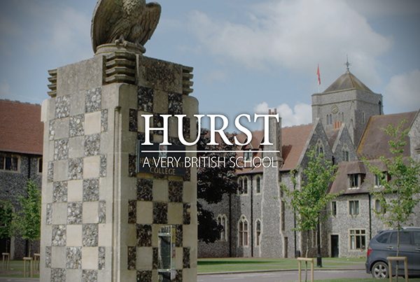 Hurst – A Very British School